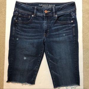American eagle outfitters cutoff Bermuda shorts